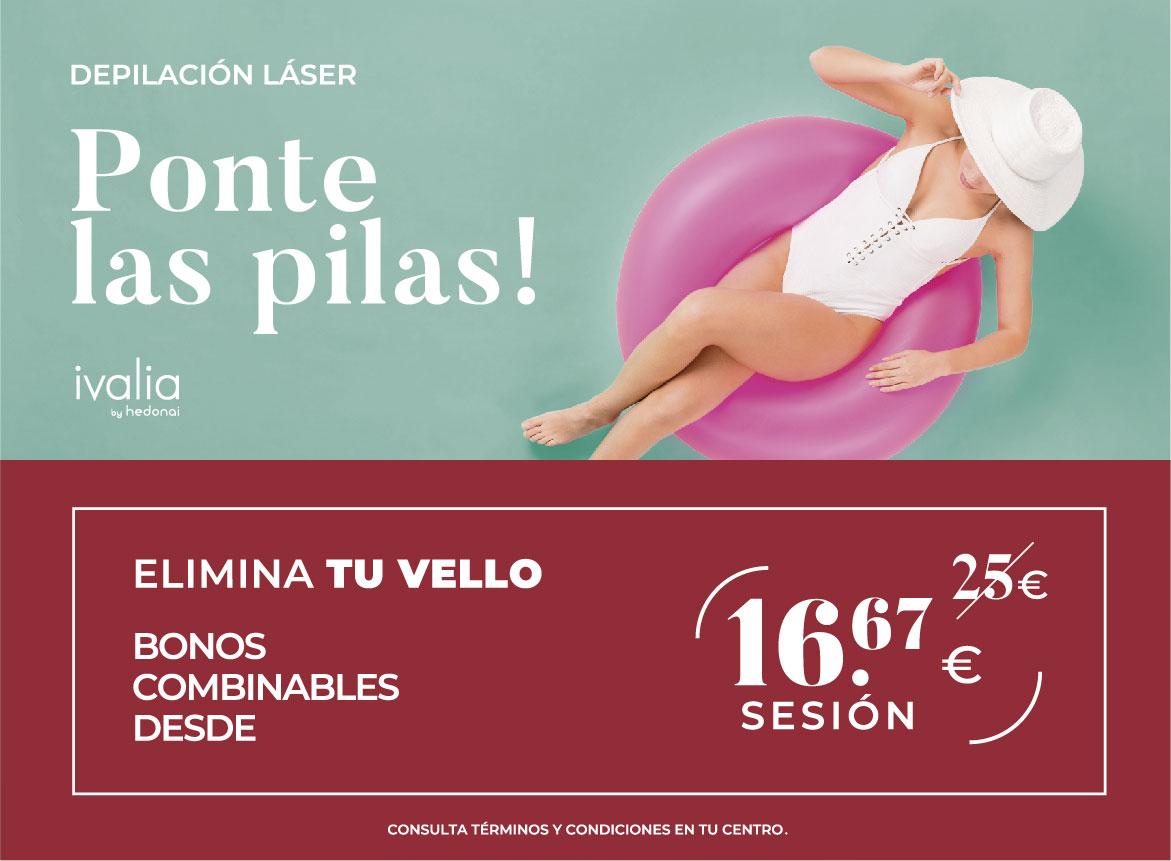 Promoción Depilación Láser Ivalia Las Palmas